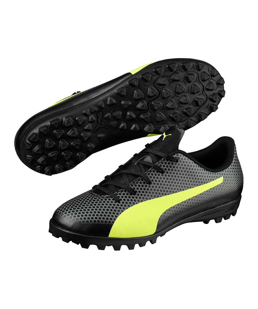 1979eca4925 love this product Black   Fizzy Yellow Spirit TT JR Turf Shoe - Kids