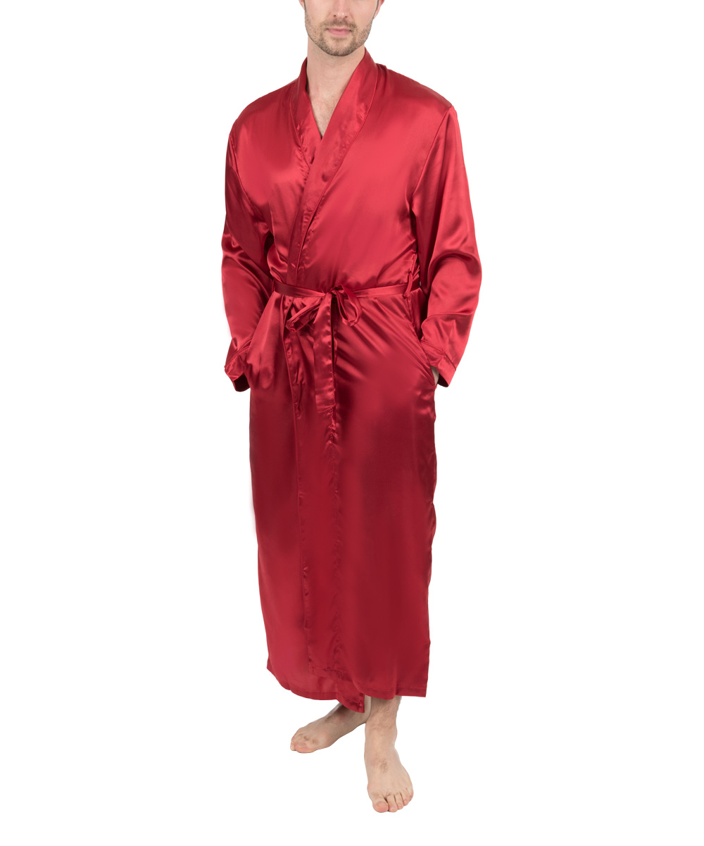f29ce1aad4 love this product Red Satin Robe - Men