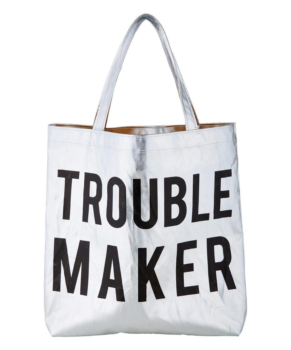 f6b20828ac81b Santa Barbara Design Studio Platinum 'Trouble Maker' Tote