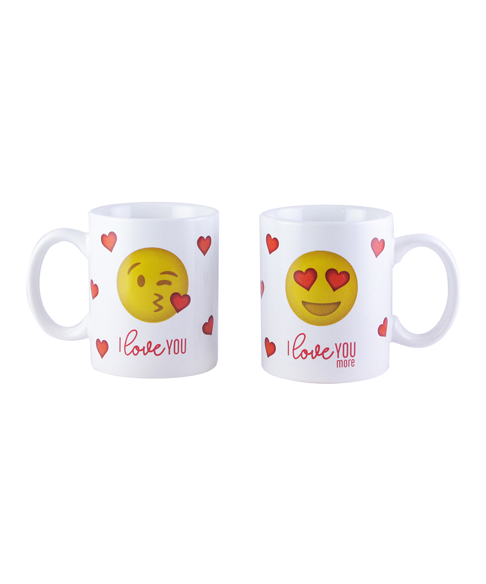 005f1c6385d American Atlier I Love You Emoji Couples Mugs Set