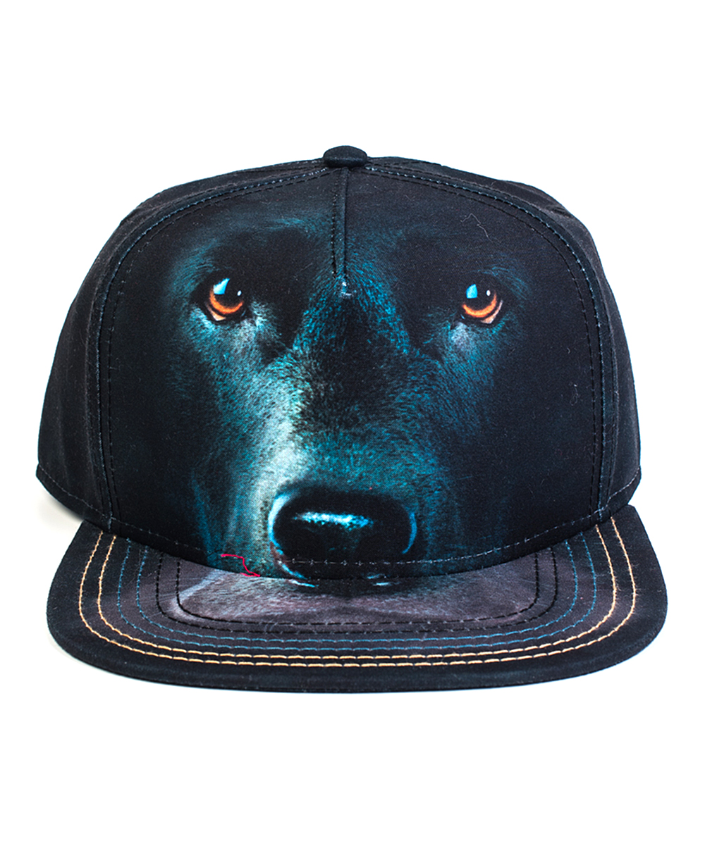 f914db13e The Mountain Black Lab Face Baseball Cap