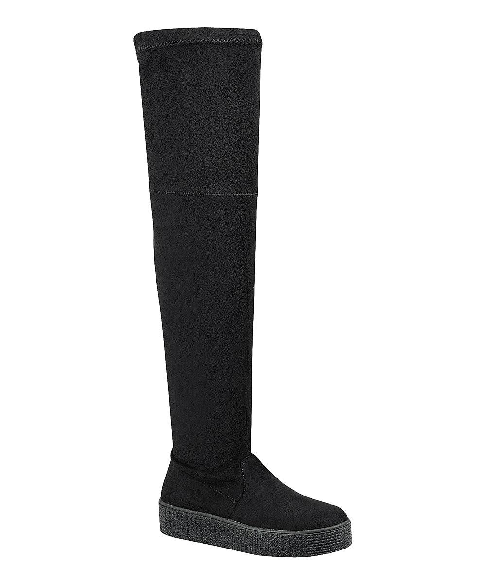 b5183812141 Black Regan Over-the-Knee Boot - Women