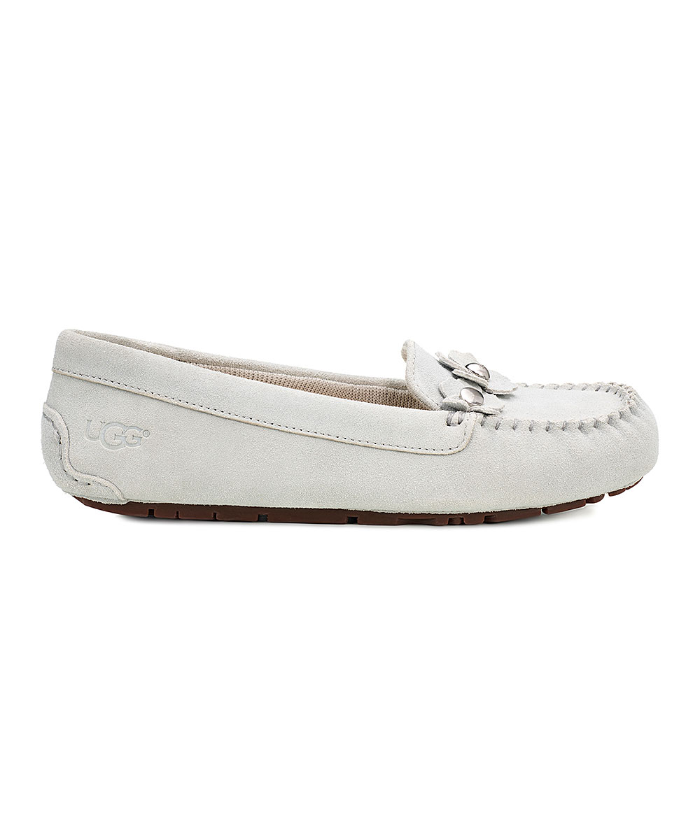 e73009bd9e9 UGG® Gray Violet Lizzy Poppy Suede Moccasin - Women