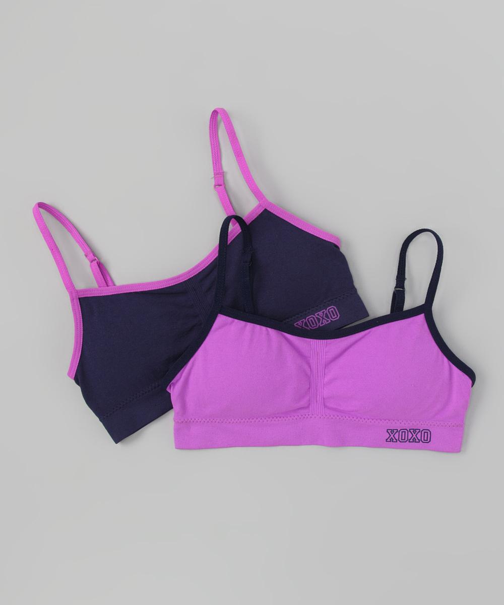 cbd4ad58f144f Xoxo petunia medieval blue training bra set girls zulily jpg 1000x1201 Xoxo  bra set