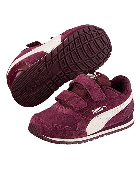 ddaae85bef PUMA Fig & Whisper White Street Runner V2 SD V INF Sneaker - Boys