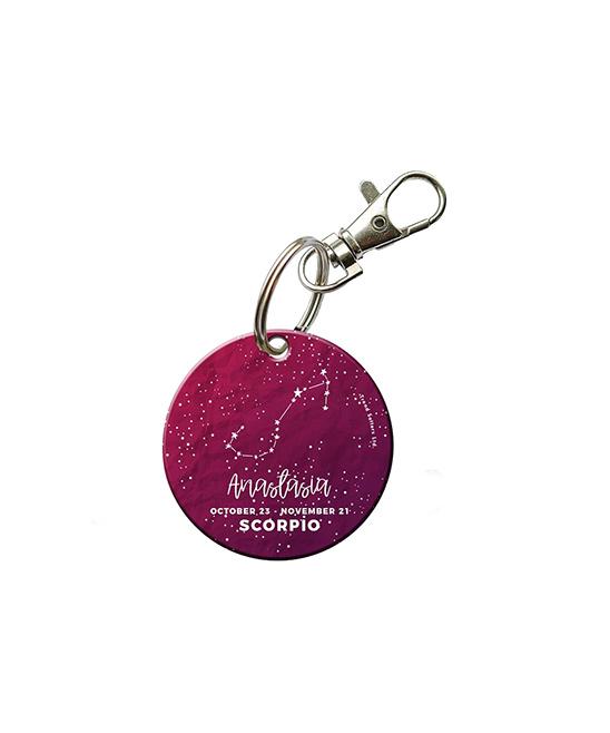 Morphing Mugs™ Scorpio Zodiac Collection Personalized Key Chain