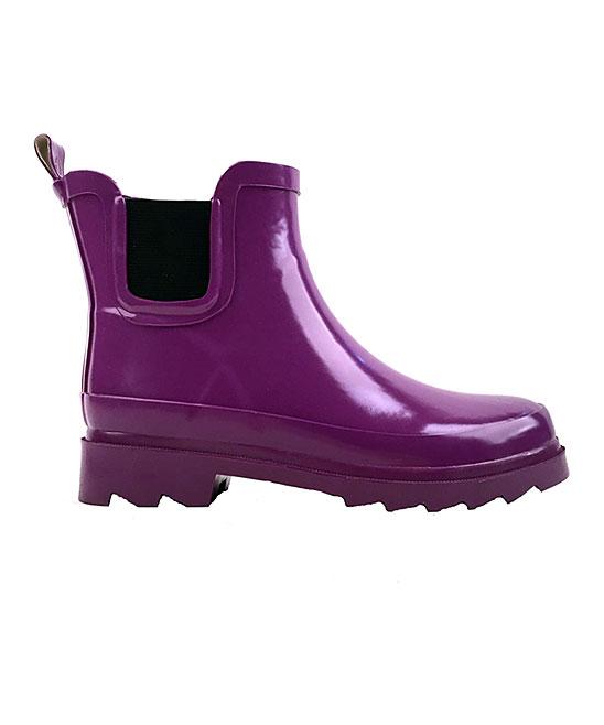 Purple Rain Boots Women