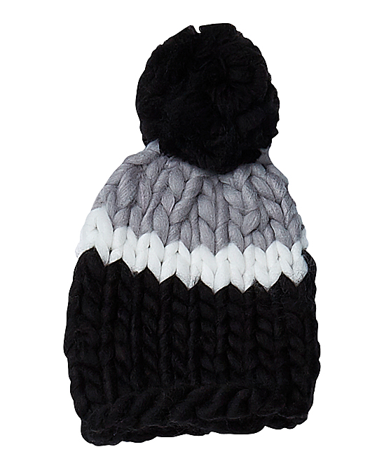 1d949c5cdd8 love this product Black   Gray Chunky-Knit Hat