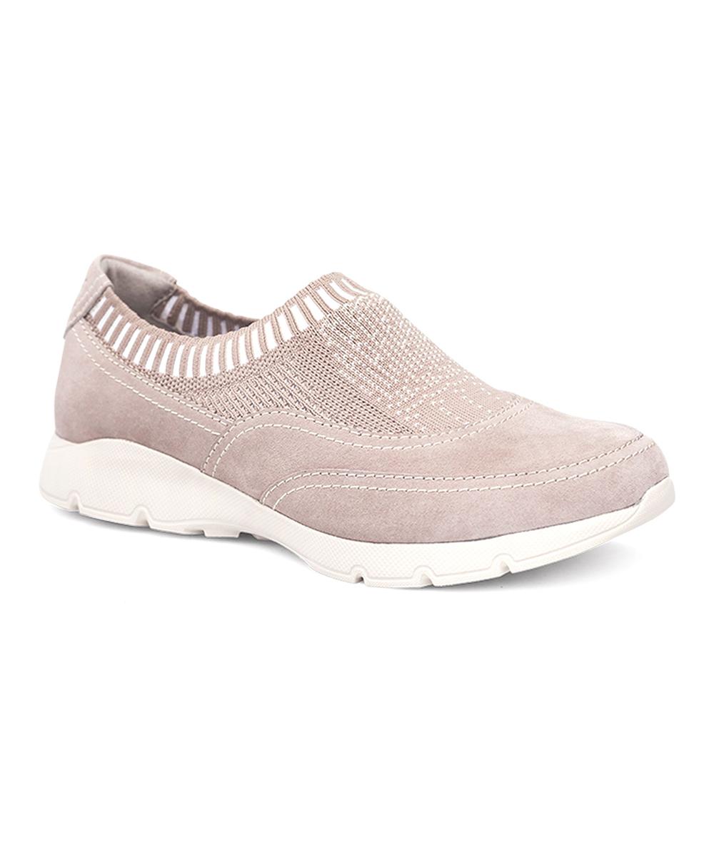 84bd8a7c11b11 Dansko Taupe Audra Suede Sneaker - Women