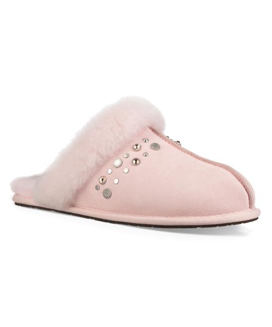 ac8f7eb2db3 UGG® Seashell Pink Scuffette II Studded Suede Slipper - Women