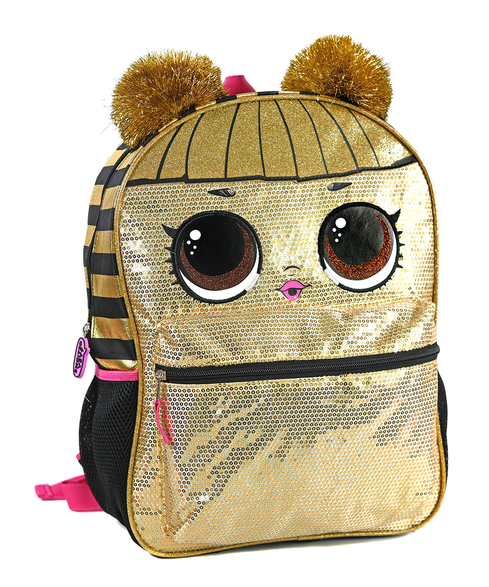 01660a1fa02 Love this product lol surprise gold sequin backpack jpg 1000x1201 Gold sequin  backpack