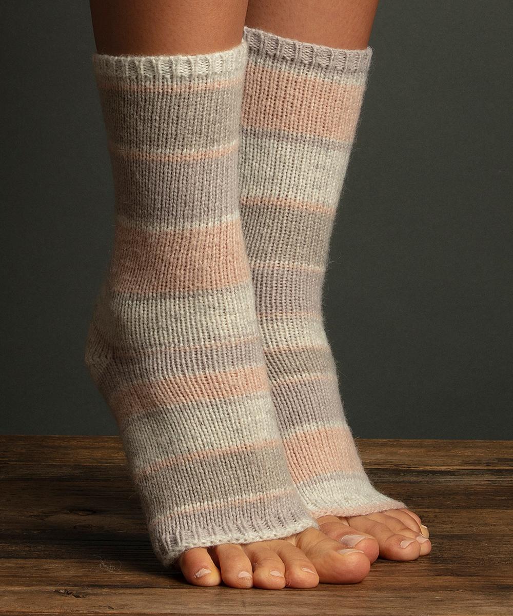 Lemon Legwear Lilac Stripe Pedicure Sock Women Zulily
