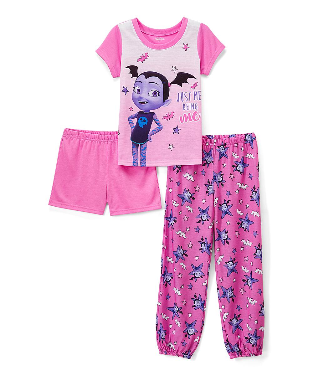 2f1b93958 Vampirina Light Pink Just Me Being Me Three-Piece Pajama Set - Girls ...