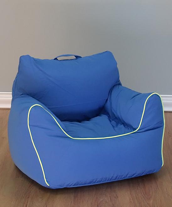 Superb Acessentials Blue Bean Bag Chair Inzonedesignstudio Interior Chair Design Inzonedesignstudiocom
