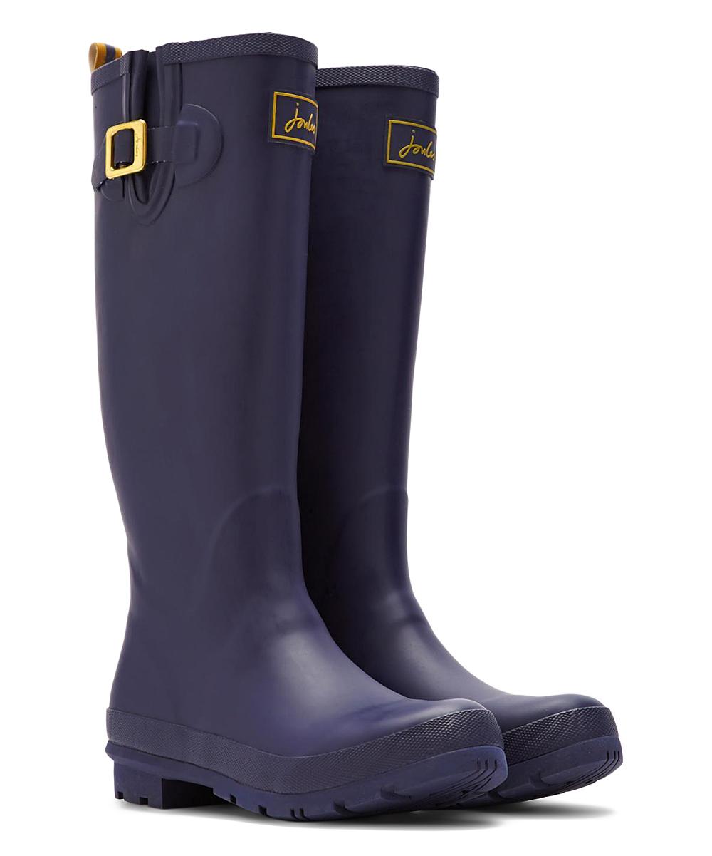 ae419ec82d1d French Navy Fieldwelly Rain Boot - Women - Joules - Zulily