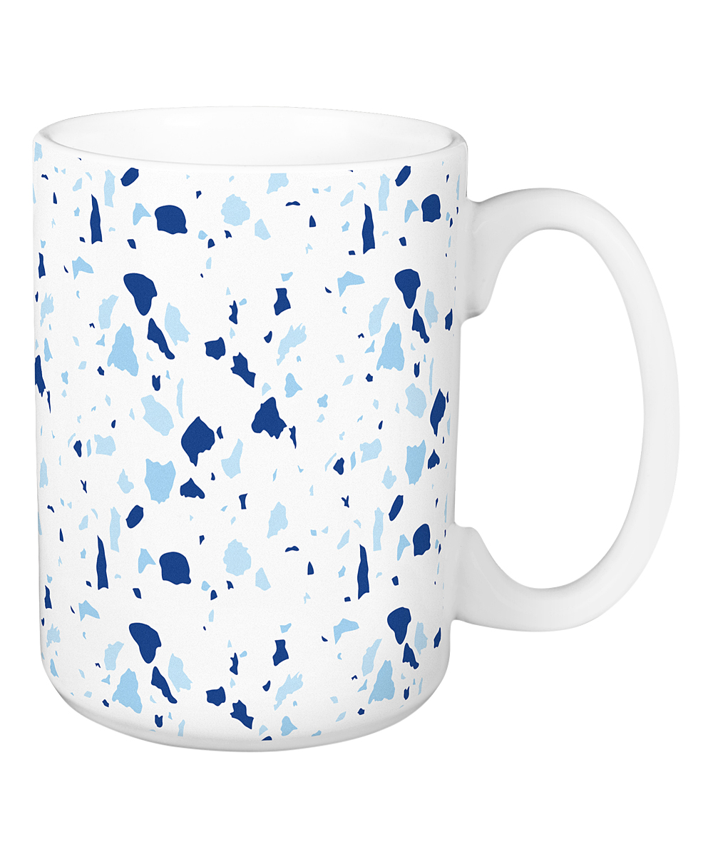Designs Direct Creative Group Blue Terrazzo Ceramic Mug