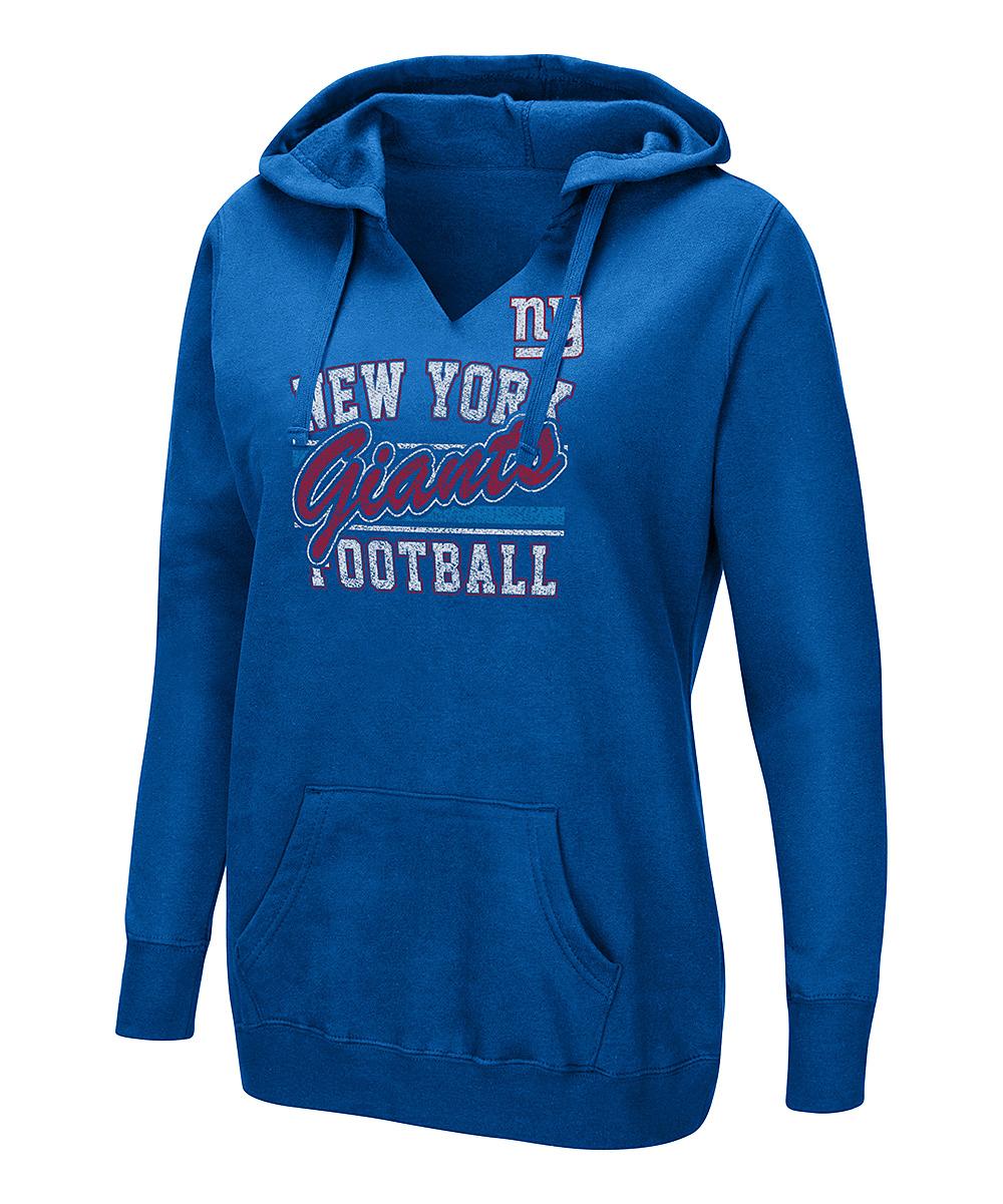 new style 2993f 115c9 New York Giants Kangaroo Pocket Hoodie - Plus