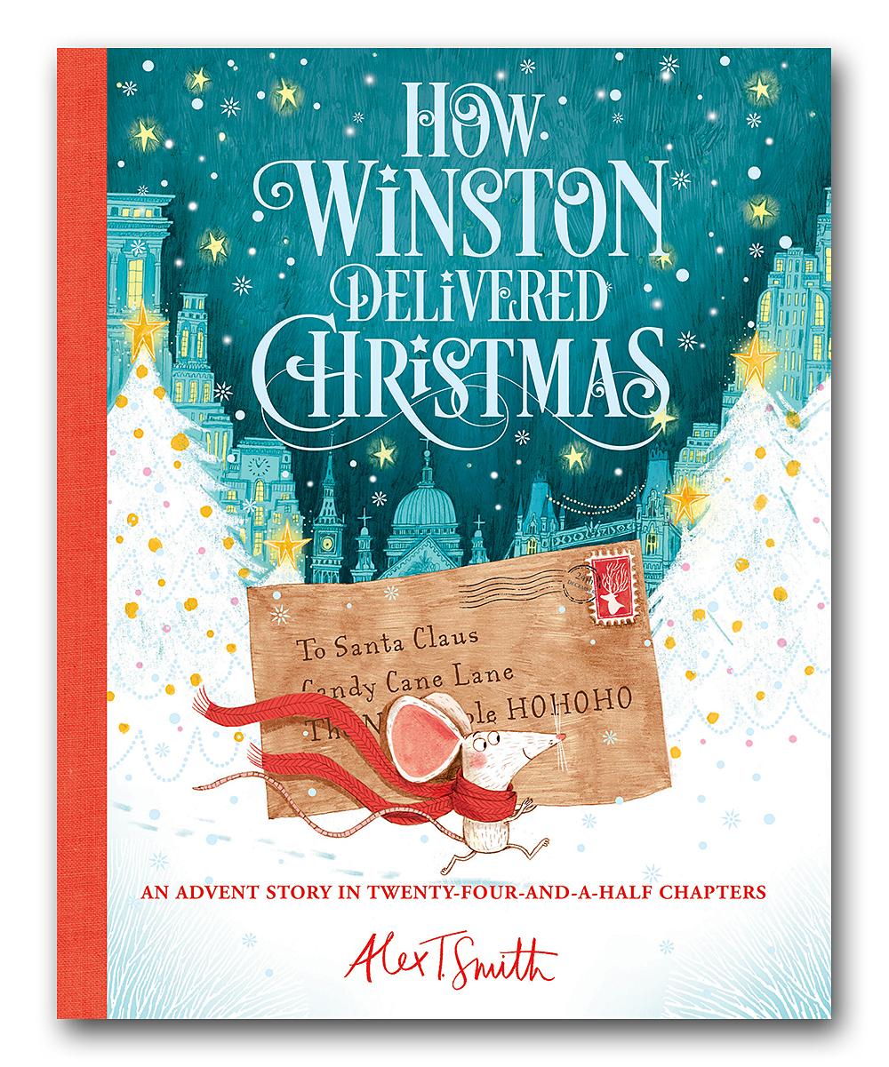 Winston Christmas Skin.Simon Schuster How Winston Delivered Christmas Hardcover