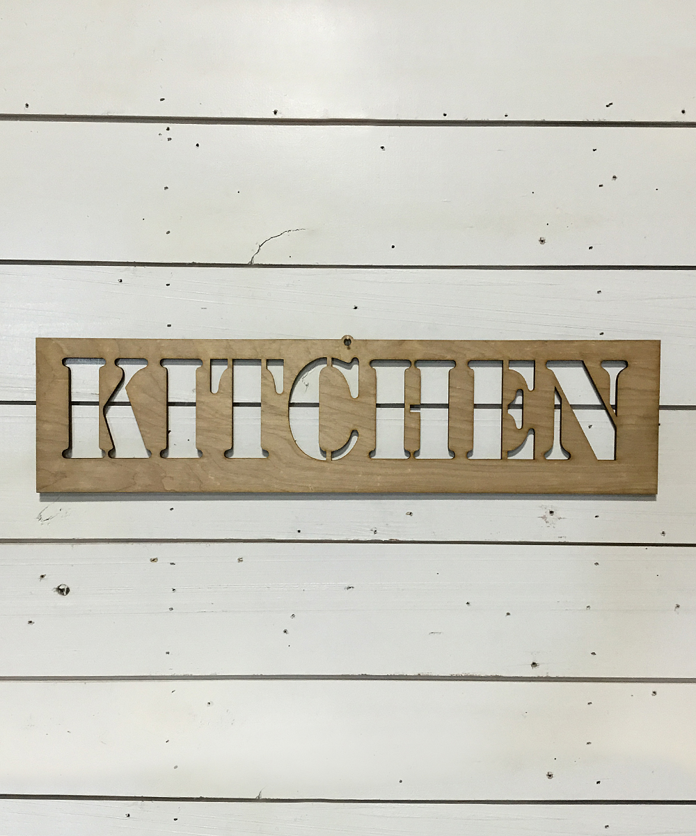 8fd Designs Wooden Kitchen Stencil Wall Art