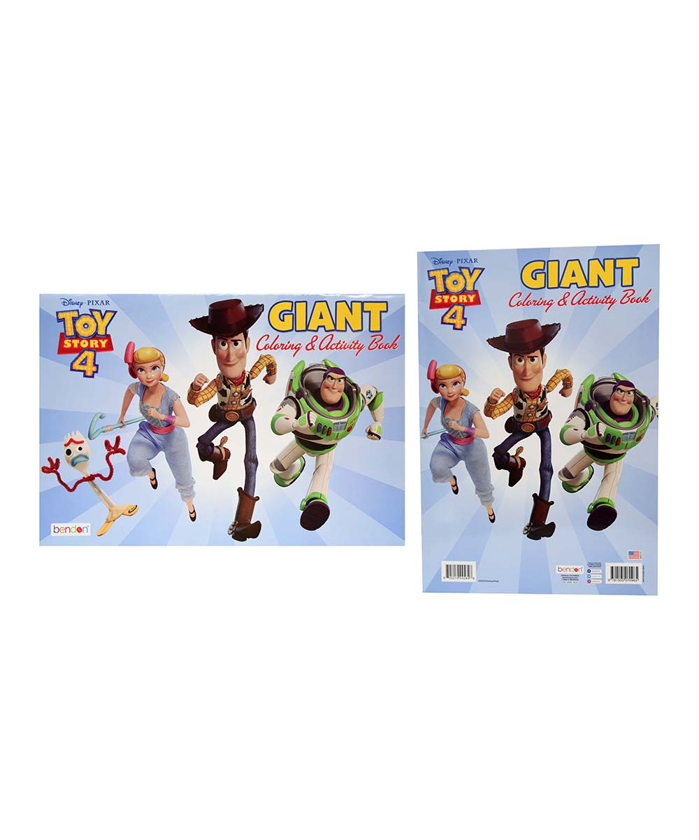 Upd Toy Story 4 Giant Coloring Activity Book