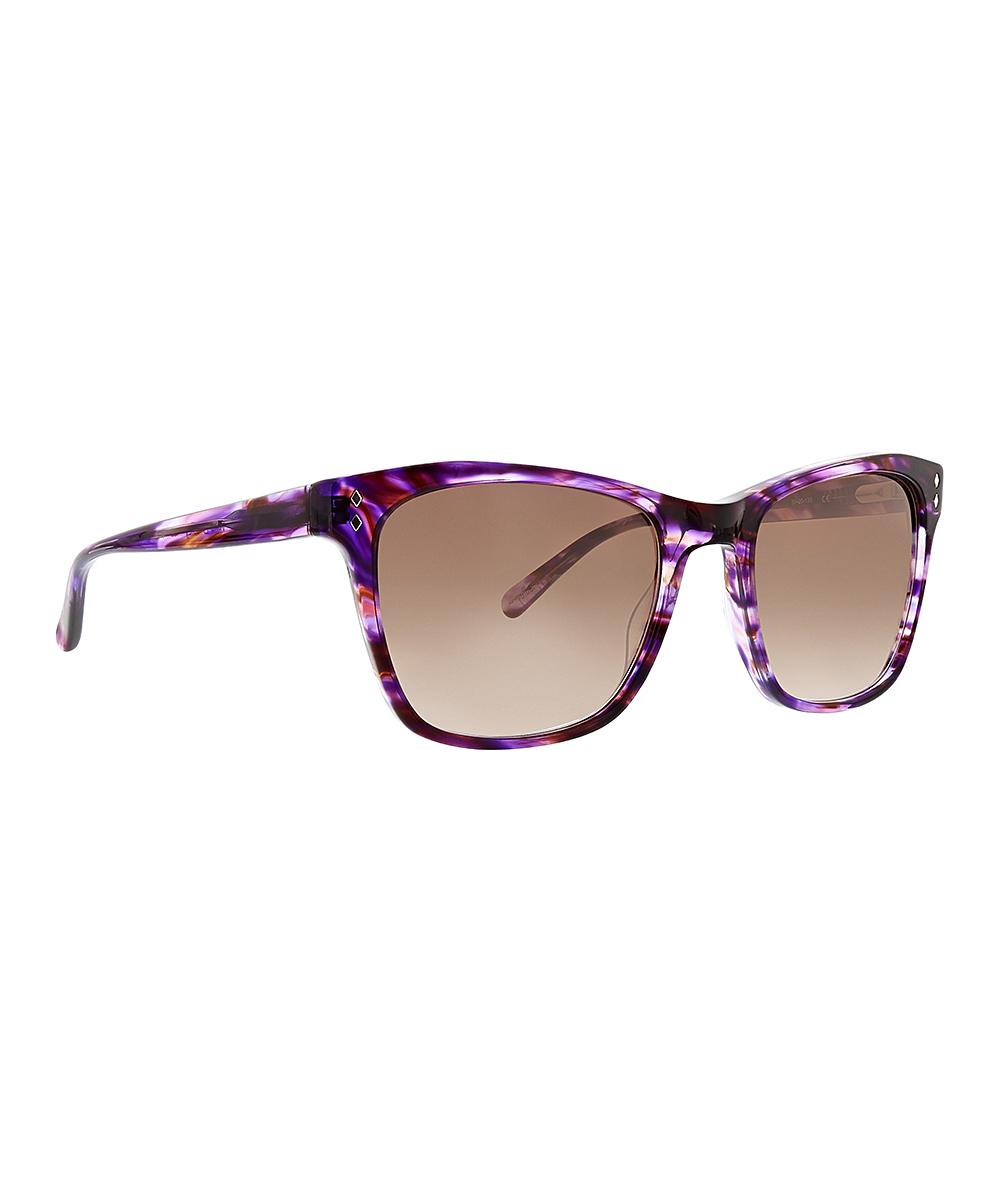 18bc9ed11365e Vera Bradley Lilac Medallion Nara Cat-Eye Sunglasses | Zulily