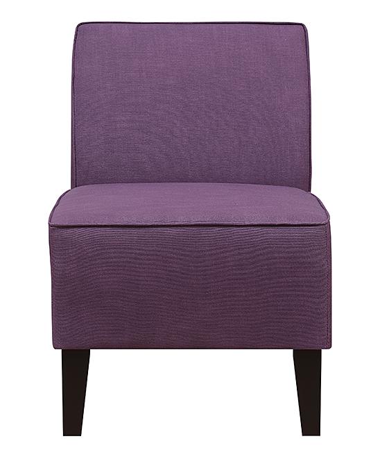 Terrific Pulaski Purple Essential Slipper Accent Chair Creativecarmelina Interior Chair Design Creativecarmelinacom