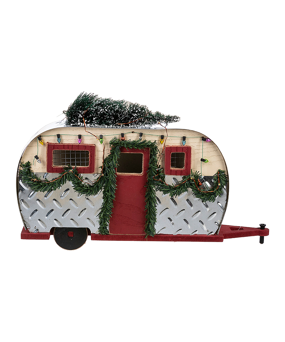 Light Up Camper Christmas Ornament