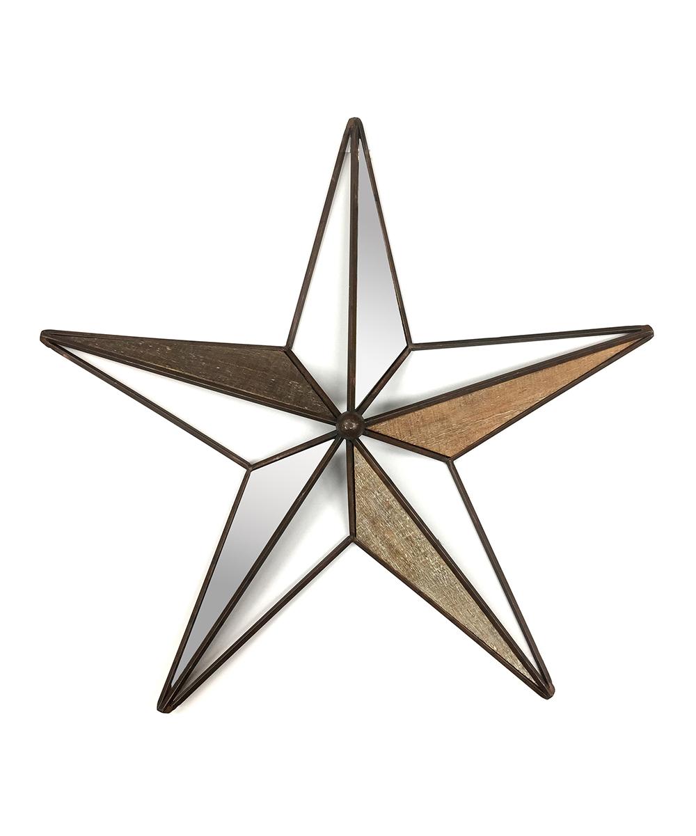 Crystal Art Gallery Mirrored Star Wall