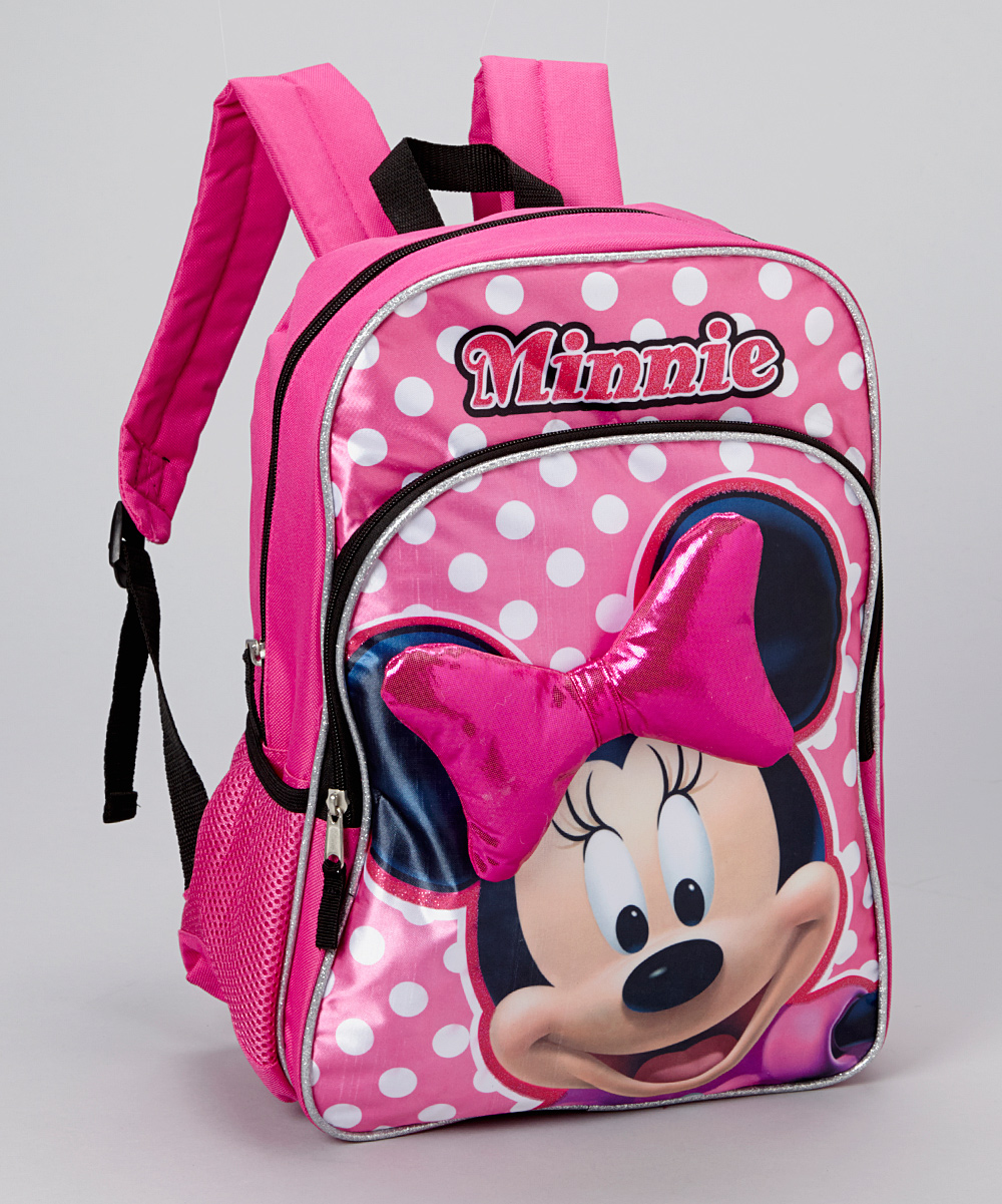 a1f00f86b3d love this product Pink Minnie Mouse Bow Backpack