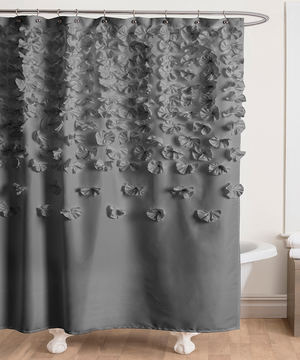 Love This Product Gray Lucia Shower Curtain
