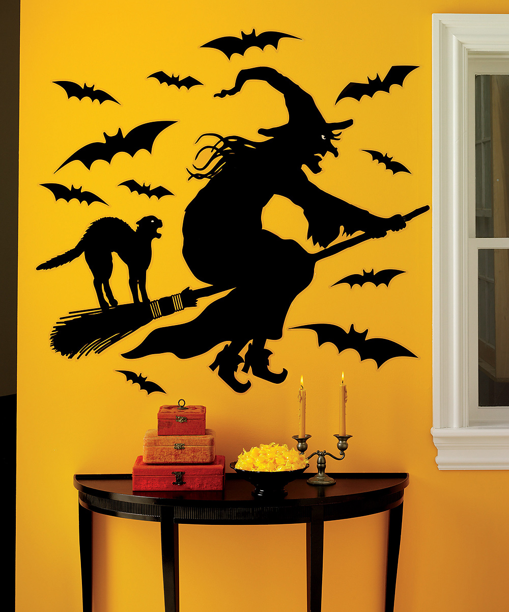 Colorful Diy Halloween Wall Decorations Elaboration - The Wall Art ...