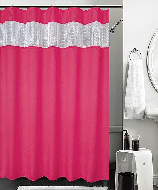 Love This Product Pink Sequin Burka Shower Curtain