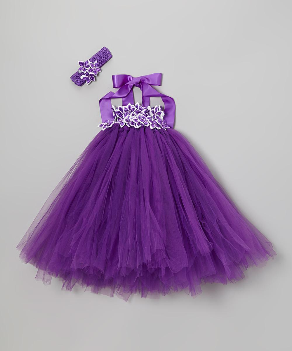 Toddler Purple Dress