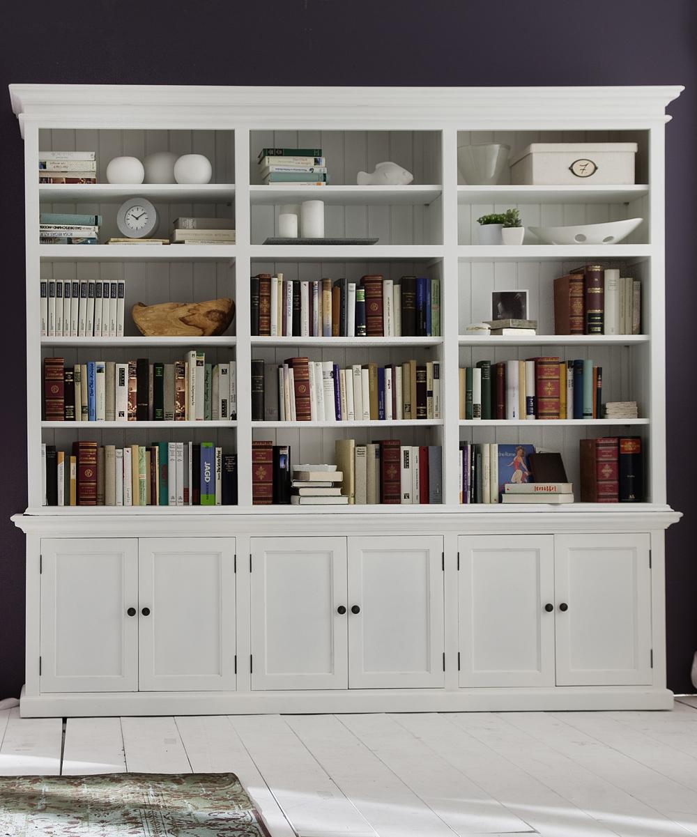 NovaSolo Furniture Large Hutch Bookcase