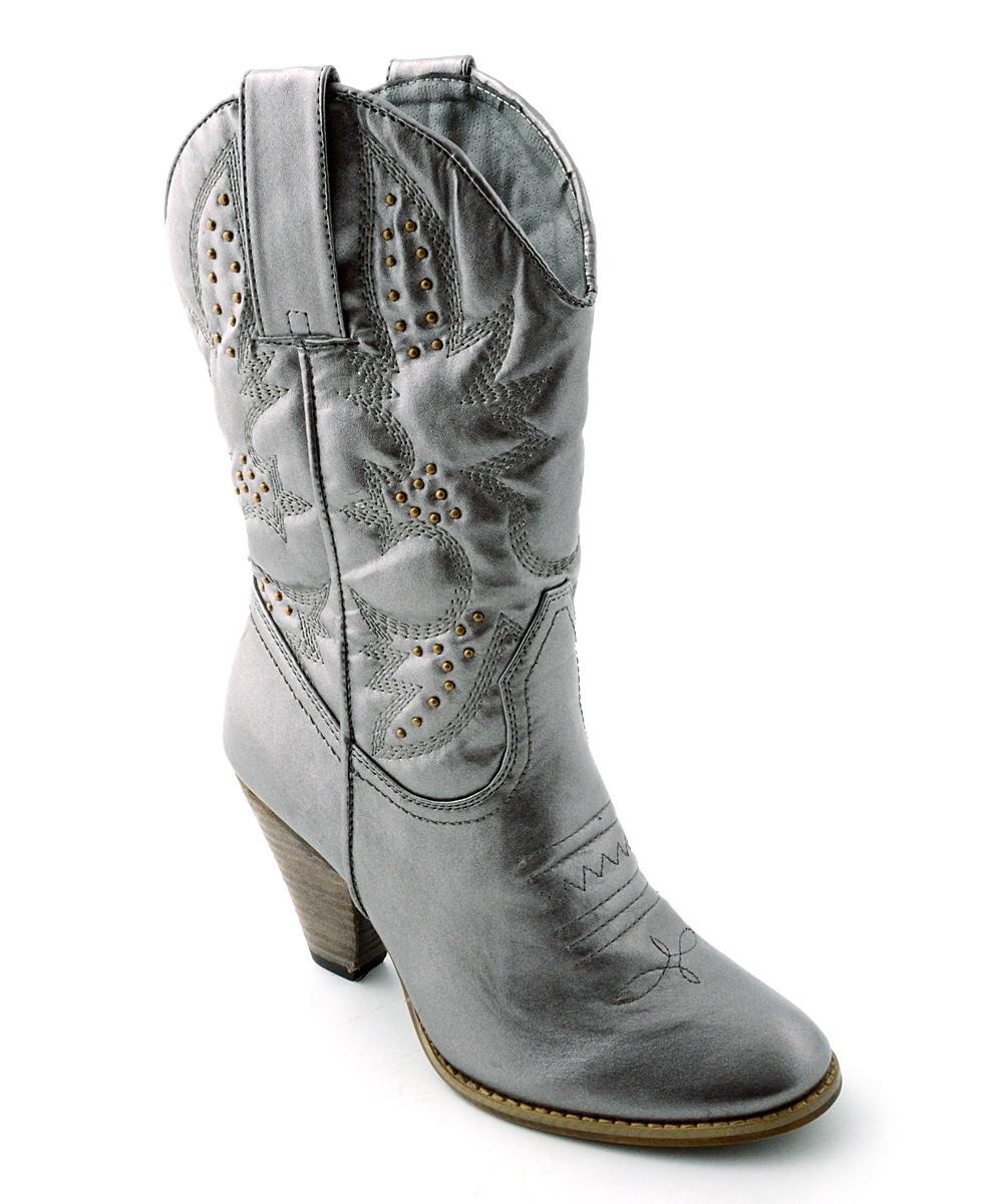 6b017a23ccc Corkys Footwear Pewter Sage Brush Cowboy Boot