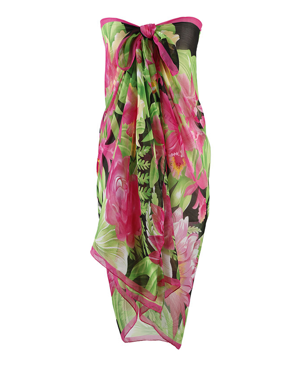 efc58e9ed6 love this product Colorful Floral Versatile Pareo Sarong Cover-Up