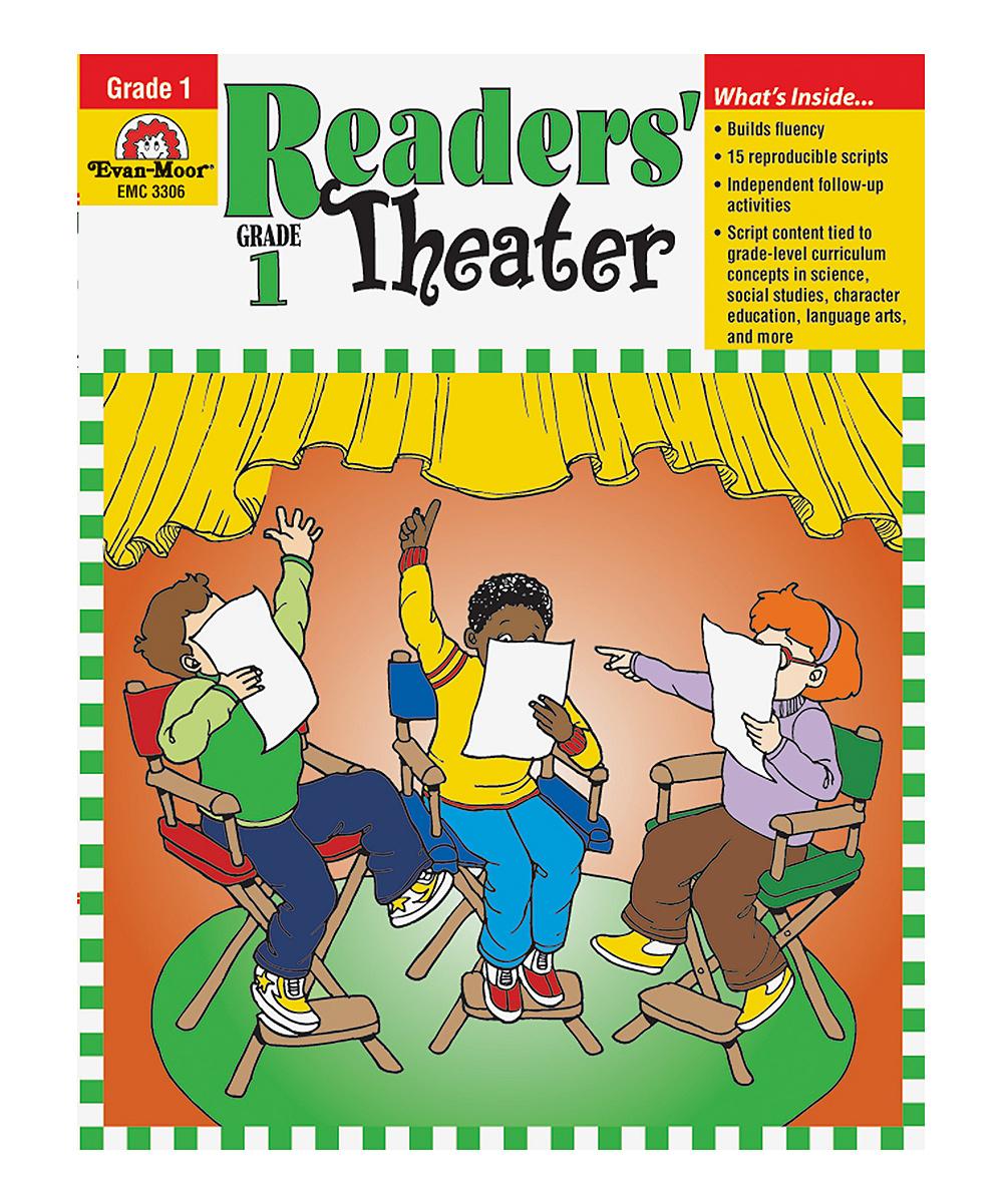 Evan-Moor Educational Publishers Reader's Theater Grade 1 Workbook