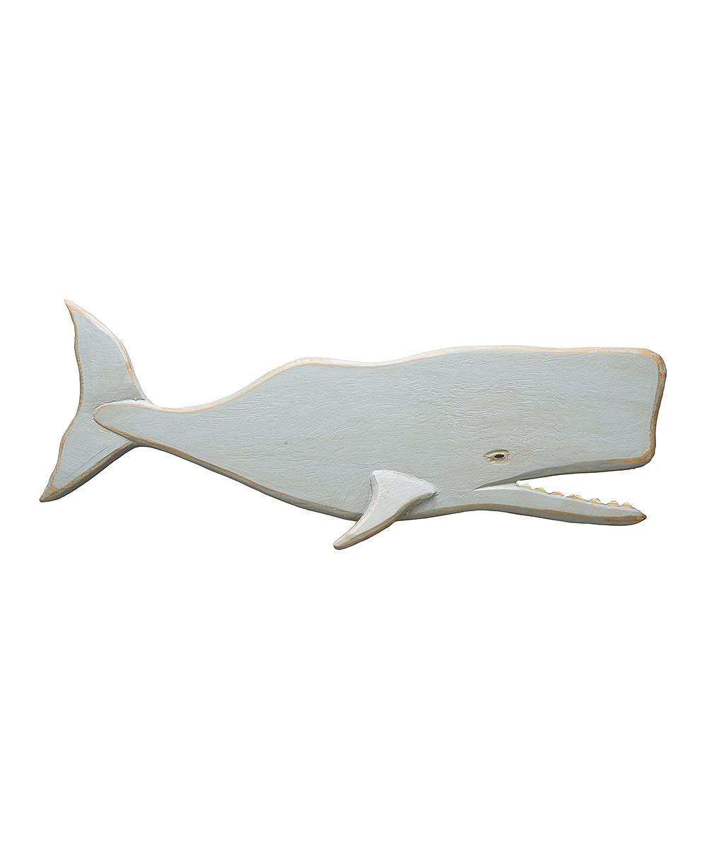 Primitives By Kathy Wooden Whale Wall Art