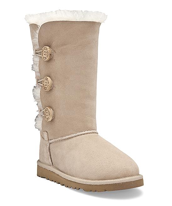 1de17e59fbc UGG® Sand Bailey Button Triplet Suede Boot