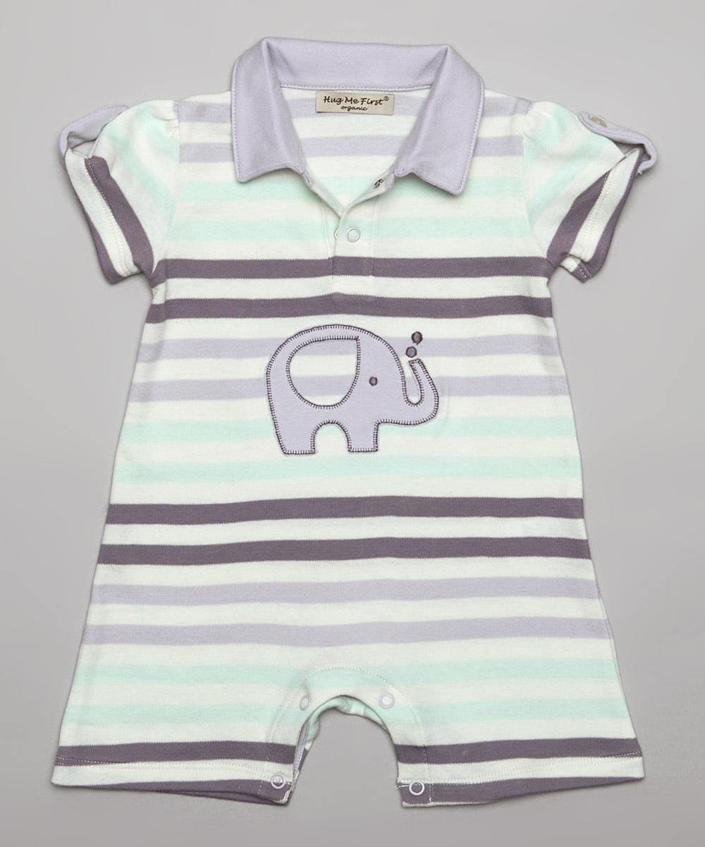 3f071e0ed41 love this product Lavender Stripe Zoe Organic Pima Romper - Newborn   Infant
