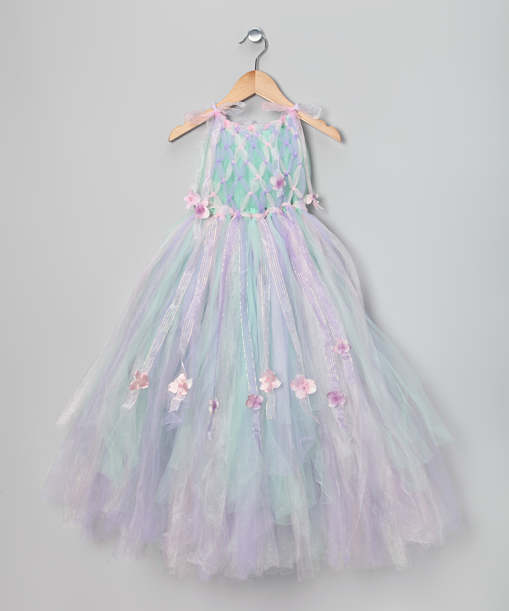f8879947ed5 love this product Pink   Blue Spring Flower Fairy Dress - Toddler   Girls
