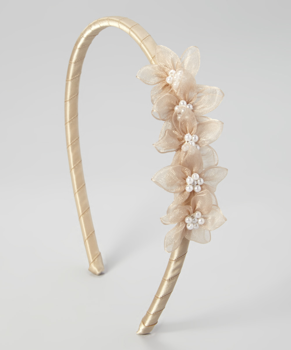 Kid's Dream Champagne Blossom Headband