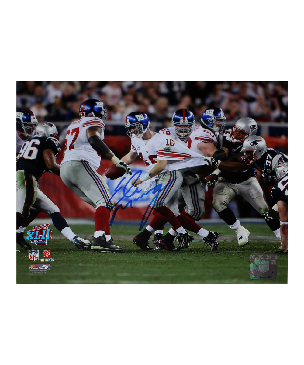 8012f120 Steiner Sports Memorabilia Eli Manning-Autographed New York Giants Photo