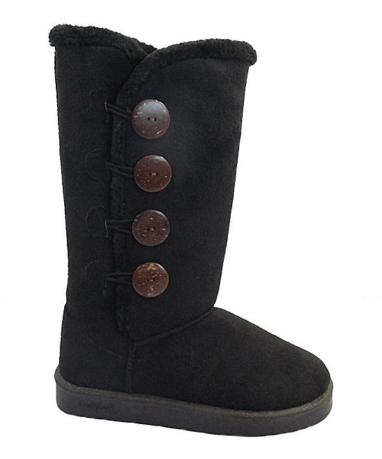 1d0e882a8b5fc love this product Black Button GG Boot - Women