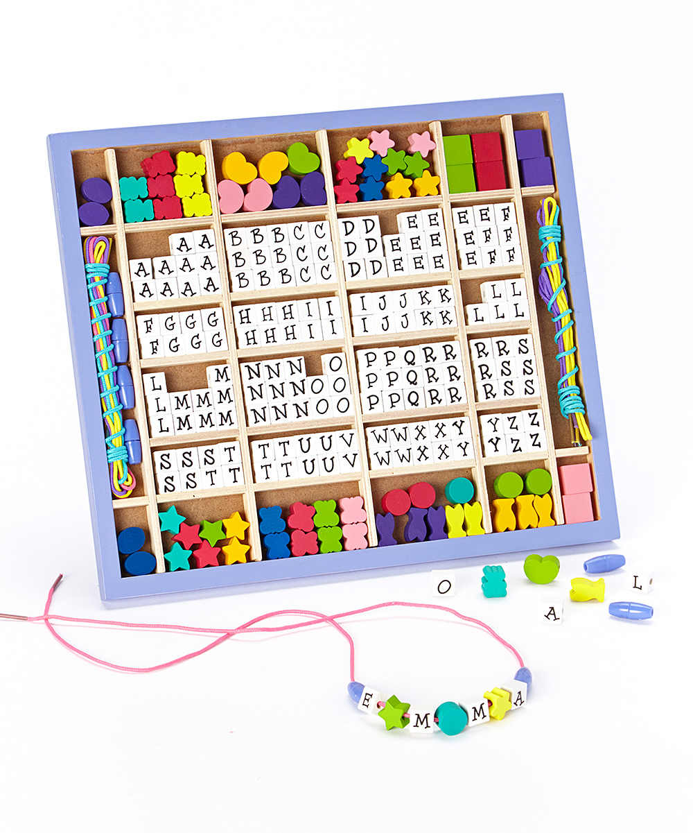 Melissa Doug Stringing Bead Set