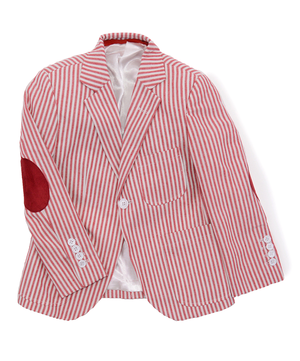 red elbow patch jacket mens