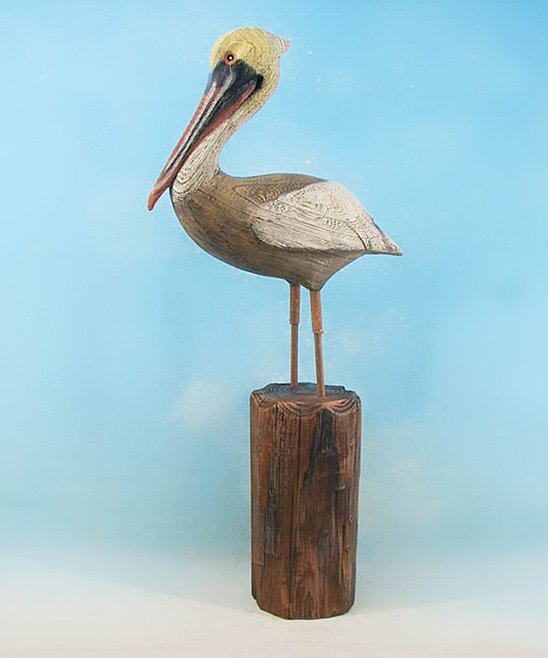 Chesapeake Bay Large Pelican Statue