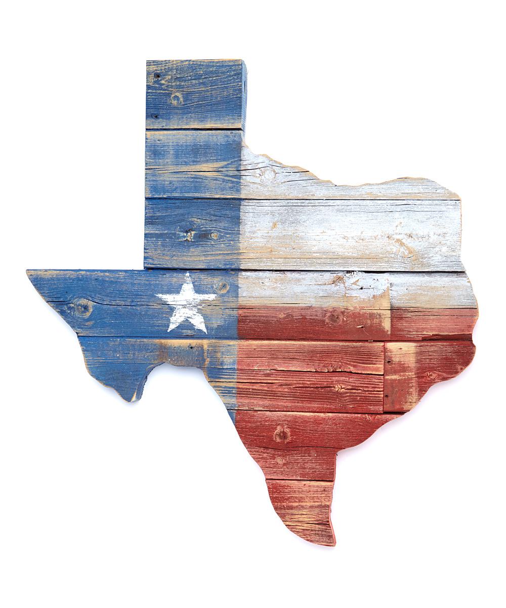 Wayne Works Texas Flag Reclaimed Wood Wall Art