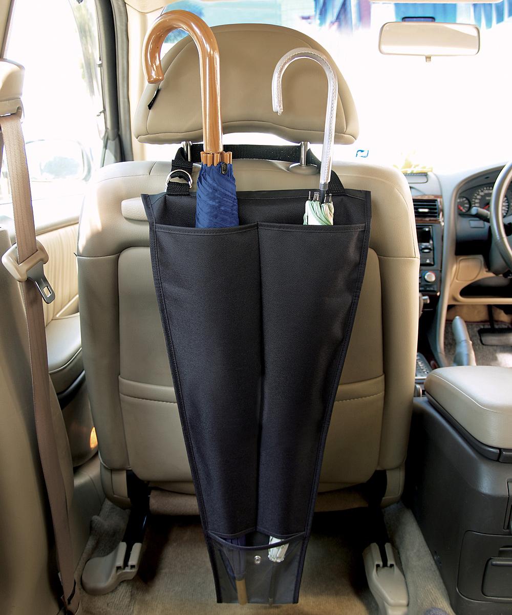Love This Product Auto Interiors Black Umbrella Bag Car Organizer