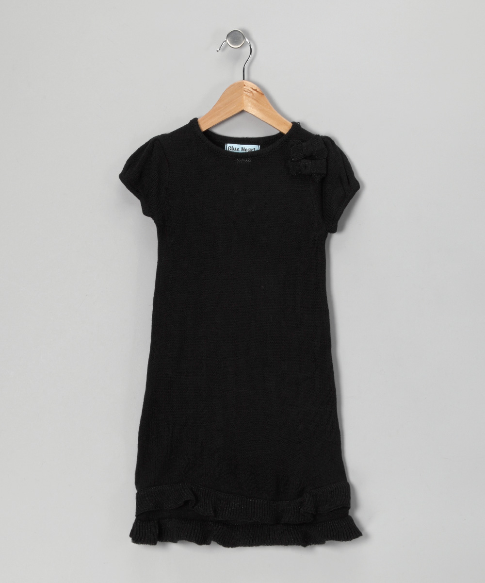 3aab9634f2b love this product Black Bow Sweater Dress - Infant   Girls